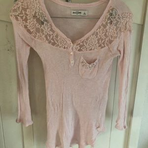Abercrombie kids size large top